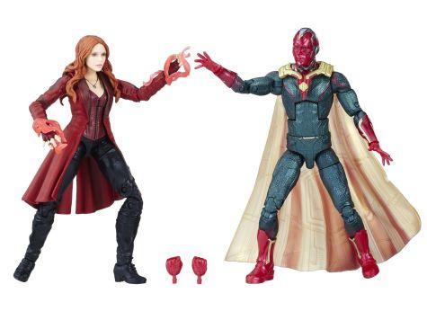 MARVEL AVENGERS INFINITY WAR LEGENDS SERIES 6-INCH Figures (Scarlet Witch & Marvel's Vision) - oop