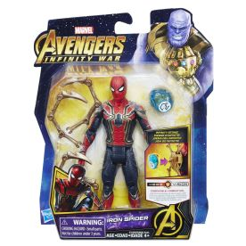 MARVEL AVENGERS INFINITY WAR 6-INCH Figure Assortment (Iron Spider) - in pkg