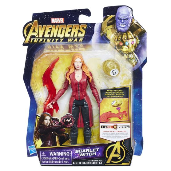 MARVEL AVENGERS INFINITY WAR 6-INCH Figure Assortment (Scarlet Witch) - in pkg