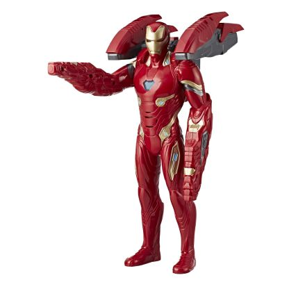 MARVEL AVENGERS INFINITY WAR MISSION TECH IRON MAN Figure - oop
