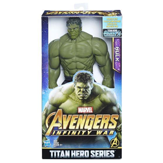 MARVEL AVENGERS INFINITY WAR TITAN HERO 12-INCH DELUXE Figures (Hulk) - in pkg