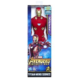 MARVEL AVENGERS INFINITY WAR TITAN HERO 12-INCH Figures (Iron Man) - in pkg