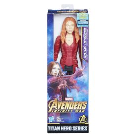 MARVEL AVENGERS INFINITY WAR TITAN HERO 12-INCH Figures (Scarlet Witch) - in pkg