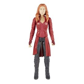 MARVEL AVENGERS INFINITY WAR TITAN HERO 12-INCH Figures (Scarlet Witch) - oop