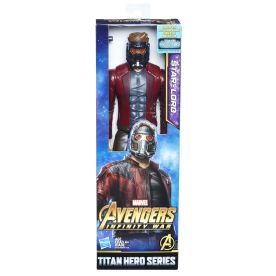 MARVEL AVENGERS INFINITY WAR TITAN HERO 12-INCH Figures (Star-Lord) - in pkg