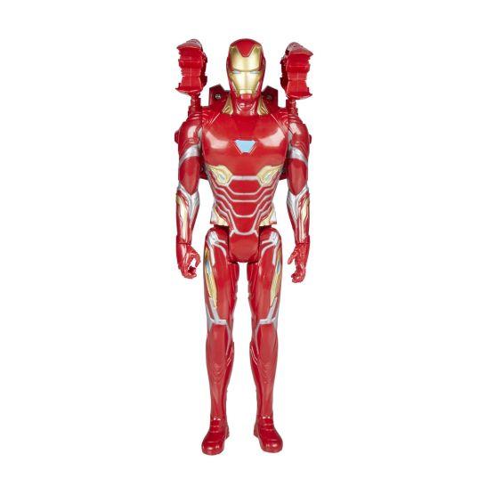 MARVEL AVENGERS INFINITY WAR TITAN HERO 12-INCH POWER FX Figures (Iron Man) - oop1
