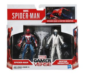 Hasbro Marvel Gamerverse Spider-Man Spider-Man vs. Mister Negative 2-pack_pkg_E3596_v1_current