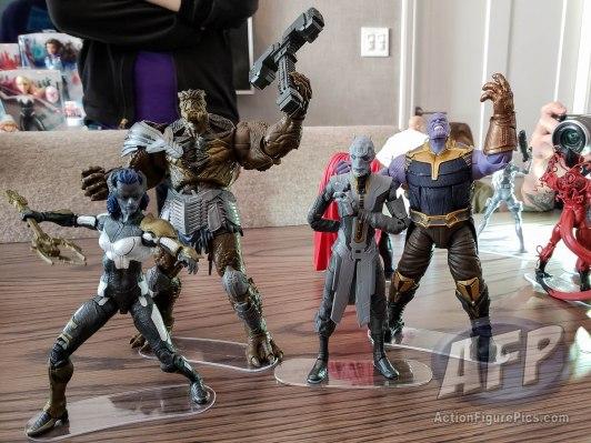 NYCC 2018 Hasbro Marvel Legends MCU Avengers Black Order (10 of 10)