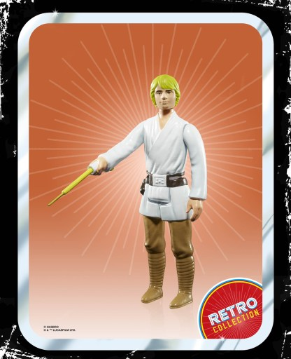 Star Wars Retro Luke Skywalker oop