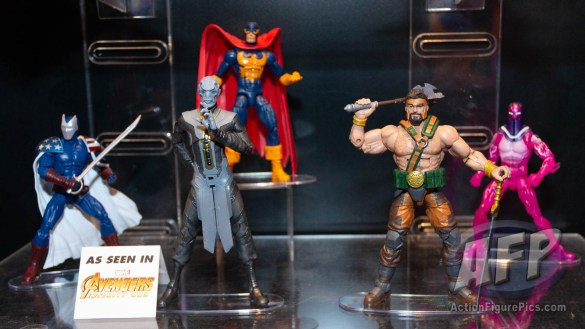 Toy Fair 2019 - Hasbro Marvel Legends Avengers wave 1 (1 of 9)