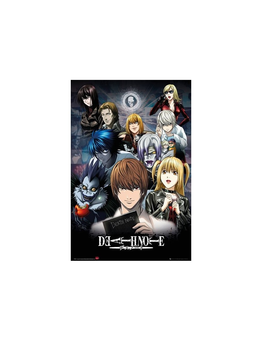 death note poster pack collage 61 x 91 cm 5