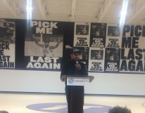 Isaiah Thomas Gym Ceremony