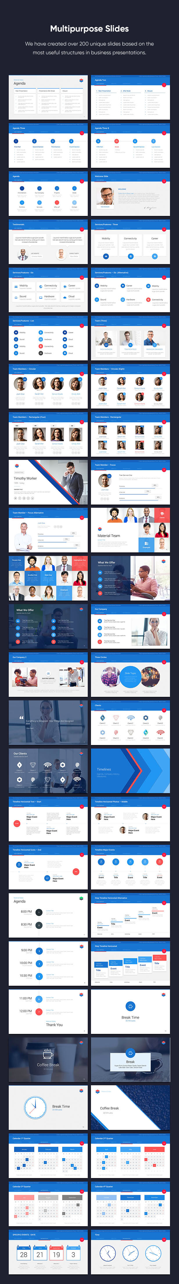 Material PowerPoint Presentation Template - 8