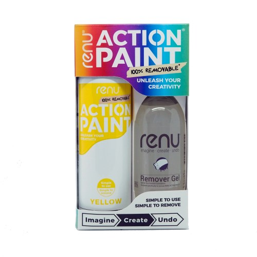 Action Paint Set - Yellow