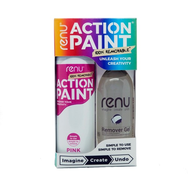 Action Paint Set - Pink