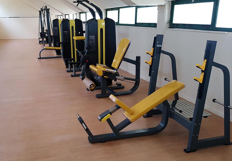 Συνολική ανακαίνιση αίθουσας γυμναστηρίου του ΔΑΚ Αγρινίου