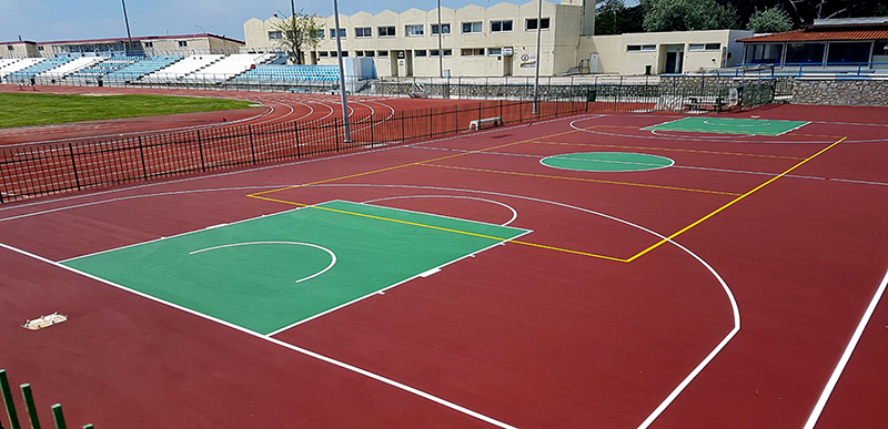 Improvement interventions in the sports facilities of the Municipality of Alexandroupolis
