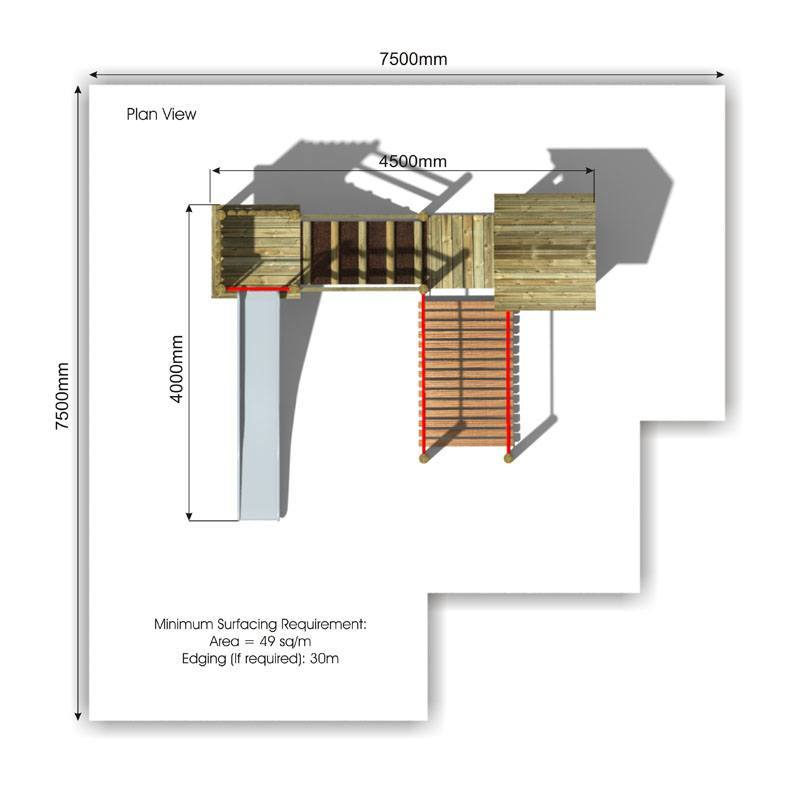 Beauchamp 1 Play Tower plan view