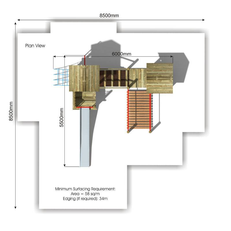 Beauchamp 4 Play Tower plan view