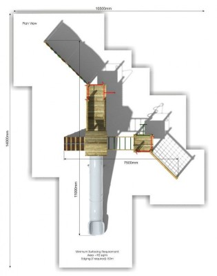 Litcham 10 Play Tower plan view