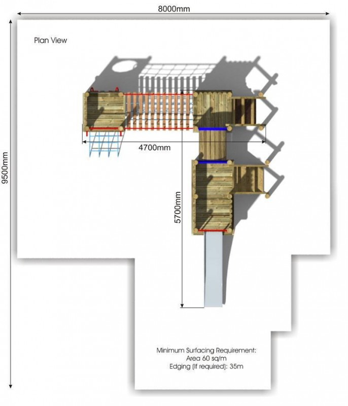 Waxham 4 Play Tower plan view