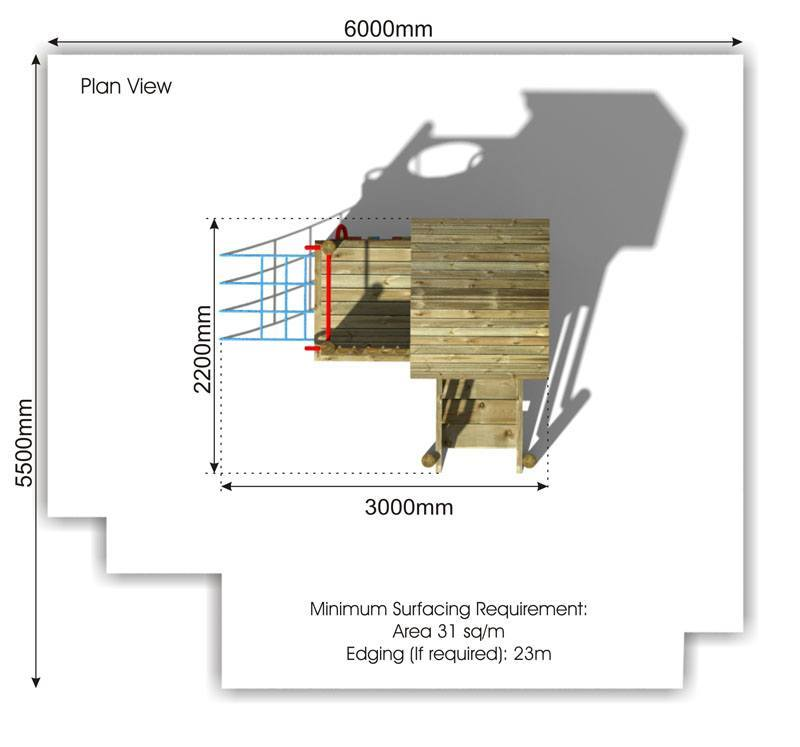 Waxham 8 Play Tower plan view