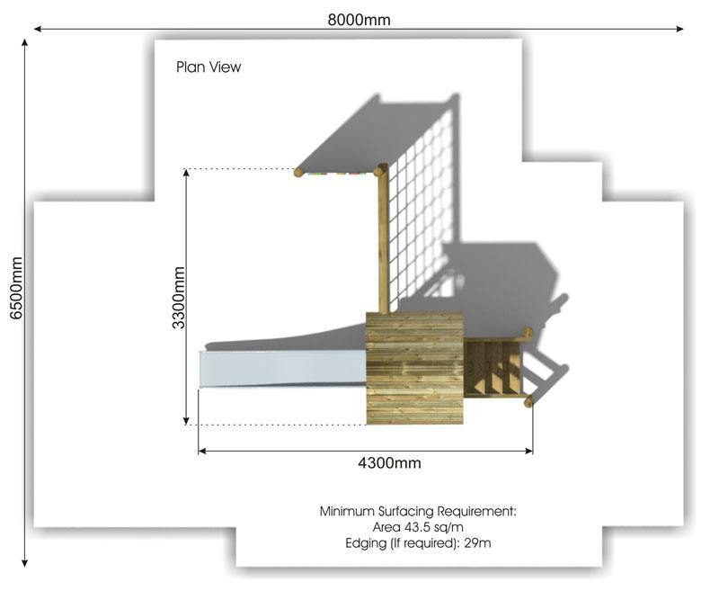 Waxham 9 Play Tower plan view