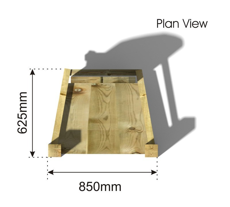 Story Telling Chair plan view
