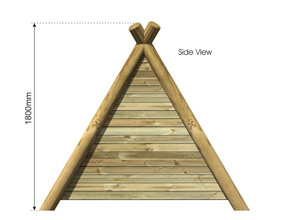 Play Wigwam side view
