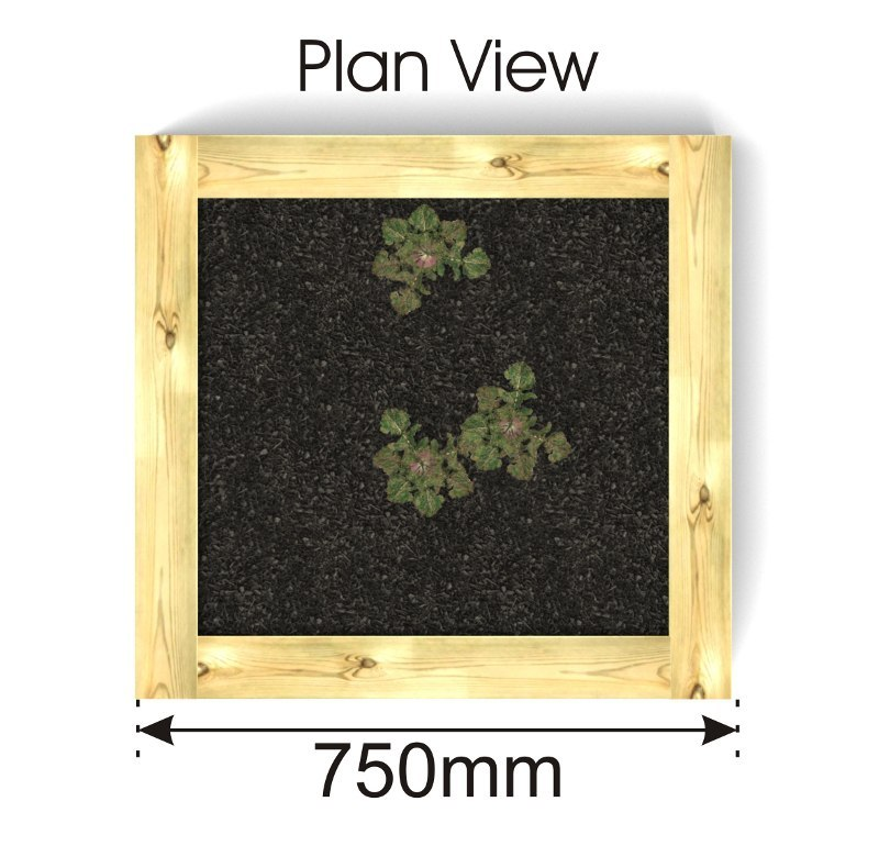 Timber Planter plan view