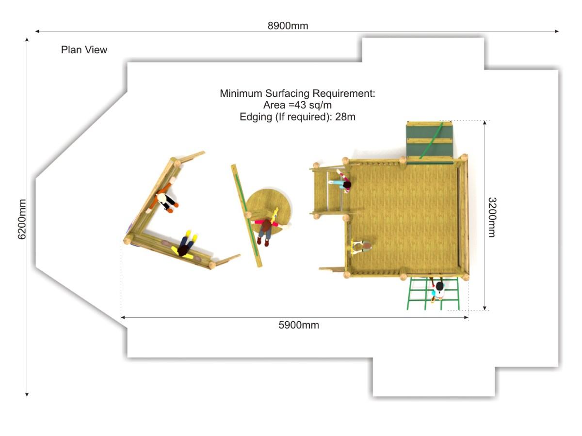 The Avenue Shipwreck plan view