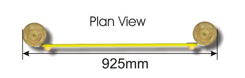 Ball Maze Panel plan view