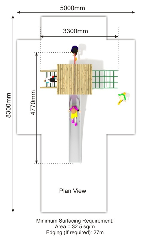 Beauchamp 11 Play Tower plan view