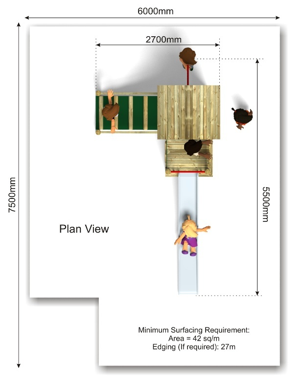Beauchamp 9 Play Tower plan view