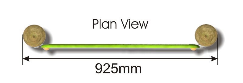 Bongo Panel plan view