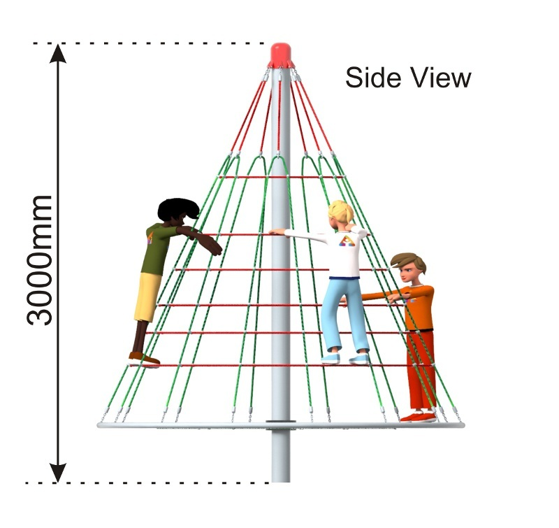 Cone Climber 3m side view