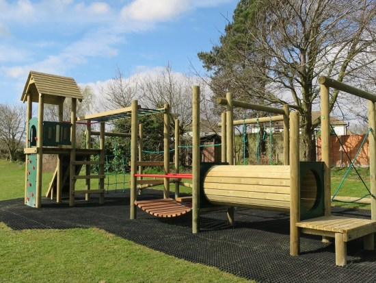 Lavenham climbing frame manufactured by Action Play & Leisure