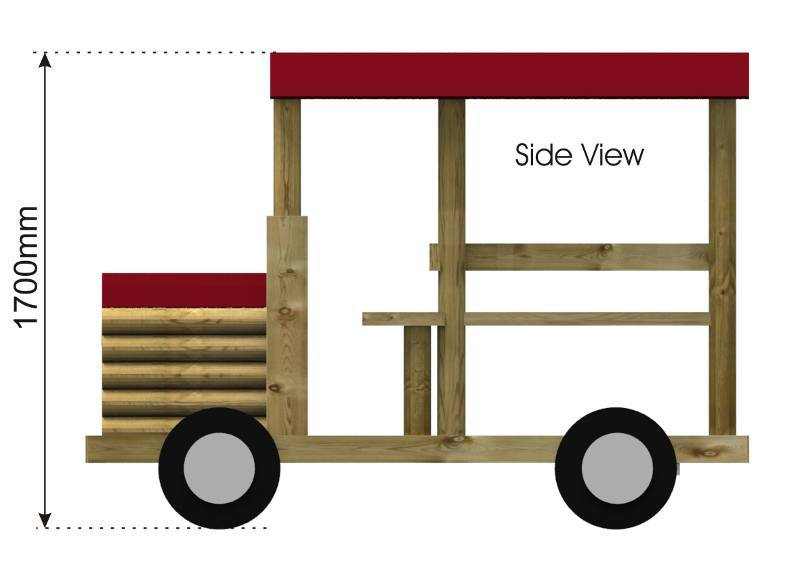Play Bus side view