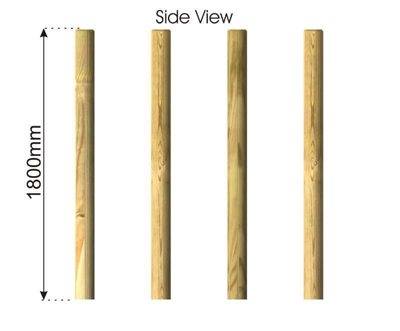 Stilt Walk side view