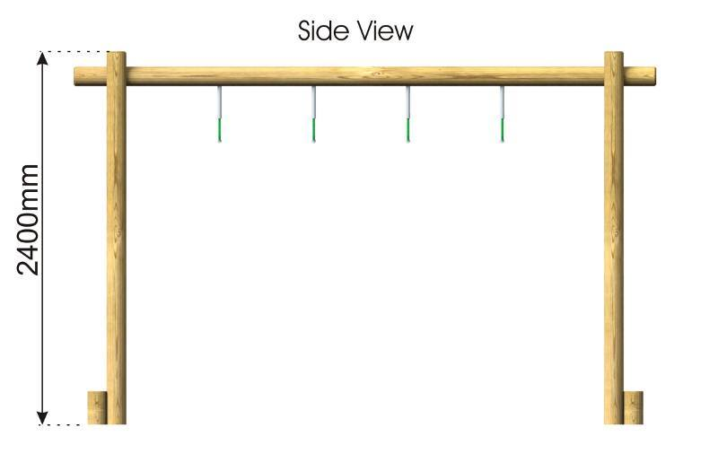Trapeze Hang Crossing side view
