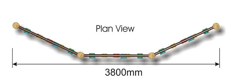 Traversing Wall 3 plan view