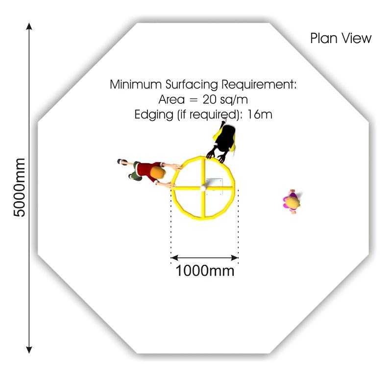 Vortex Spinner plan view