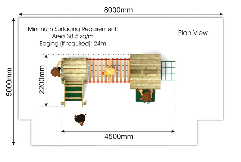 Waxham 12 Play Tower plan view