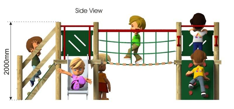 Waxham 2 Play Tower side view