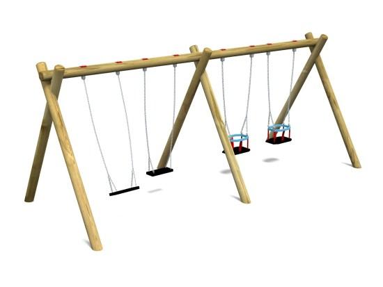 Flat & Cradle Swing 5