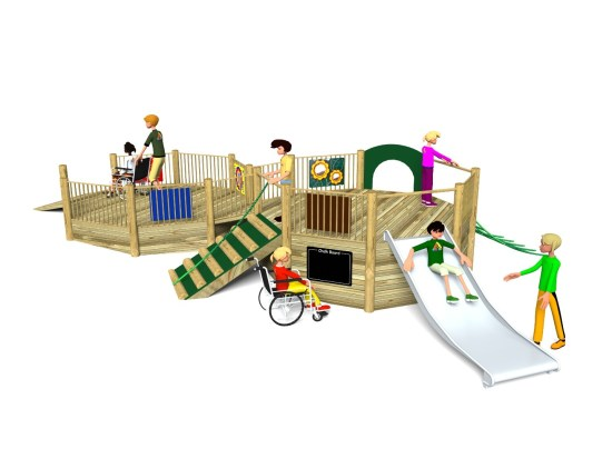 Foxley 4 Inclusive Play Tower
