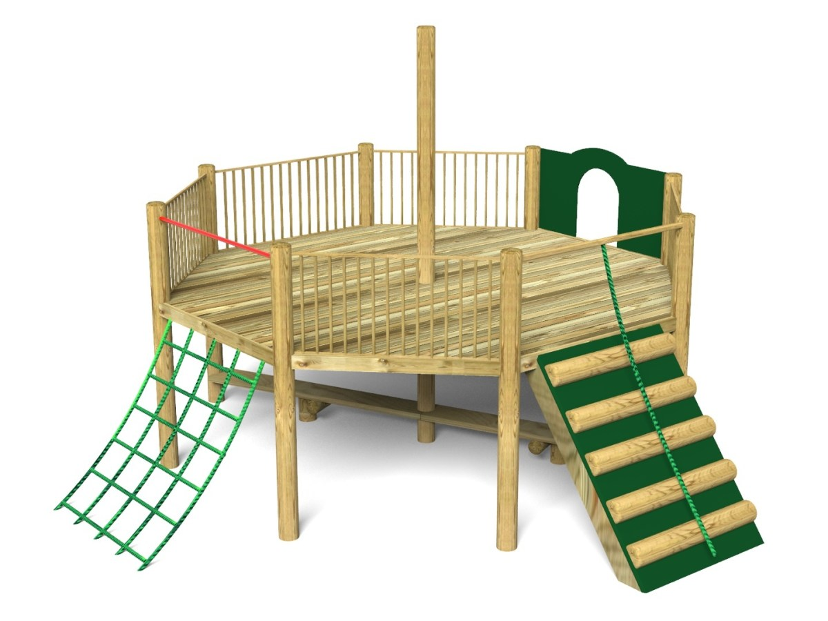 Foxley 5 Inclusive Play Tower