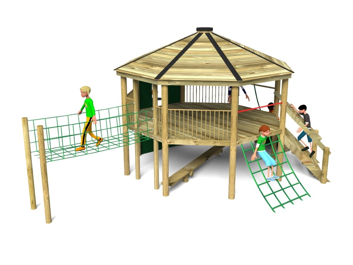 Foxley 6 Inclusive Play Tower