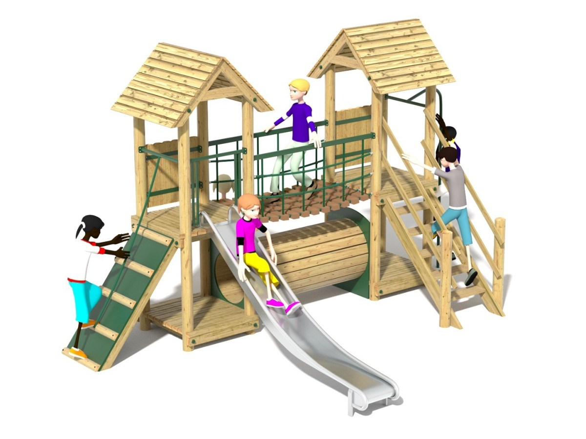 Litcham 14 Play Tower