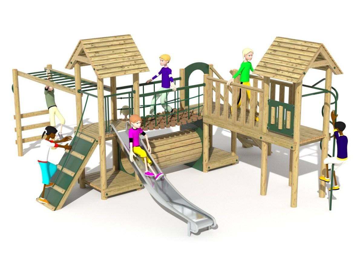 Litcham 15 Play Tower